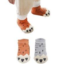 3 пар/лот мягкие сезон осень зима; Теплые детские носки для