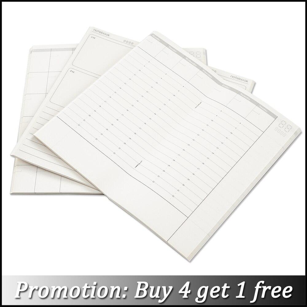 Moterm Handmade TN Leather Notebook Refill Inserts Replace Inner Core Planners Standard Passport A5 Size Traveler Diary Journals