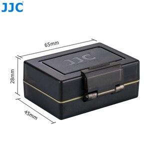 Image 5 - JJCแบตเตอรี่กล้องผู้ถือกระเป๋าสำหรับCanon LP E6 LP E6N LP E17 Sony NP FW50 Fujifilm NP W126 SD MSD TF Cardเก็บกล่อง