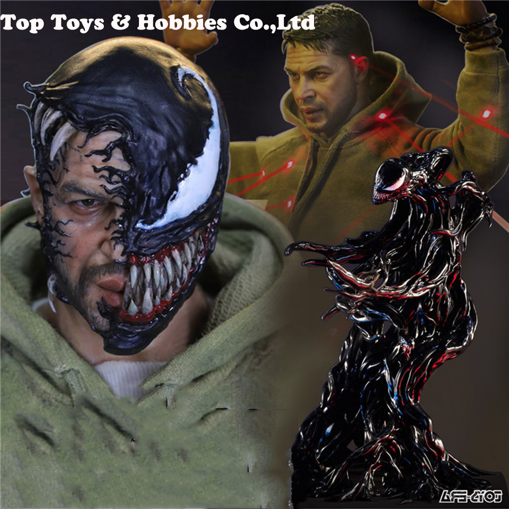 Toys Era PE003 1/6 Scale Male Figure Venom The Parasitic With Double Heads Full Set Action Figure Model Normal/Luxury Version