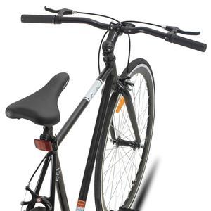 Coolin дорожный гибридный велосипед 700C колеса с односкоростным шоссейным велосипедом bicicleta 6 Скоростной Велосипед