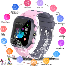 LIGE New Kid Smart watch LBS Smartwatches Baby Watch Kids SOS Call Location Finder Locator Tracker Anti Lost Monitor Kid Gift цена