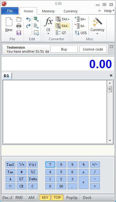 DeskCalc Pro v8.3.6 桌面计算器免费版