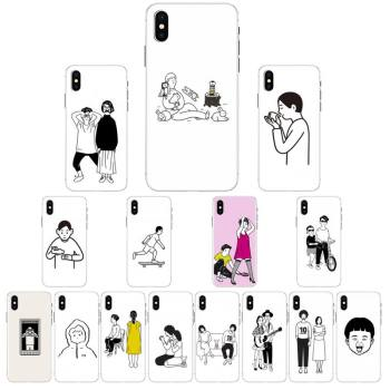 YNDFCNB Noritake Cute Aesthetic art Phone Case For iPhone X XS MAX 6 6s 7 7plus 8 8Plus 5 5S se 2020 XR 12 11 pro max case image