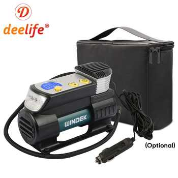 Deelife Super Fast Car Air Compressor 12V Digital Auto Tire Inflator Electric Tyre Air Pump for 12 Volt Cars Motorcycle SUV - DISCOUNT ITEM  21 OFF Automobiles & Motorcycles