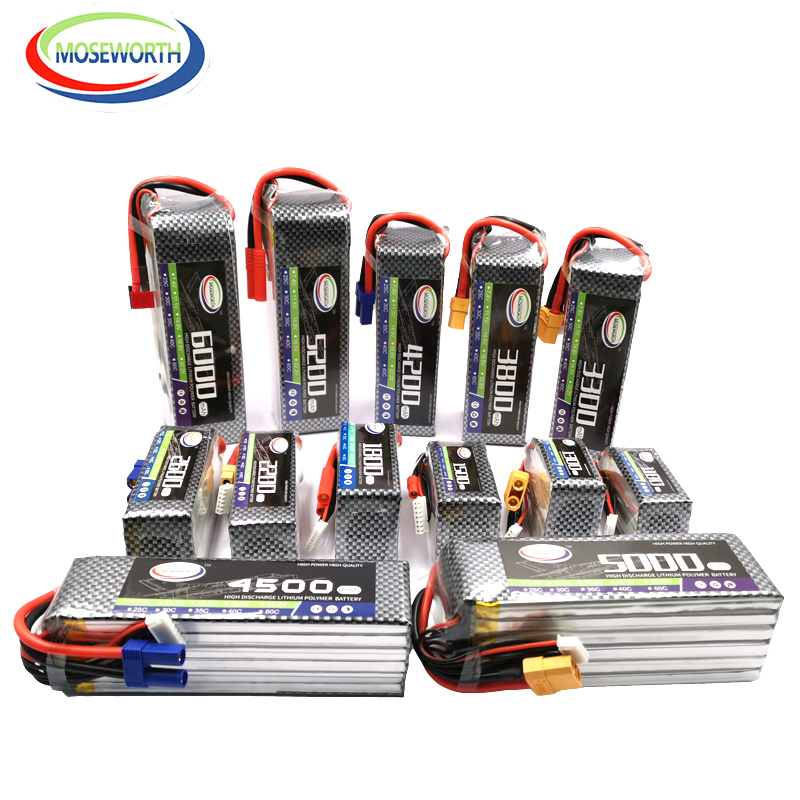 <font><b>6S</b></font> 22.2V RC <font><b>LiPo</b></font> Battery 1800 2600 3000 3500 4000 4500 <font><b>5000mAh</b></font> 30C 40C60C For RC Helicopter Aircraft Quadcopter Airplane <font><b>6S</b></font> <font><b>LiPo</b></font> image