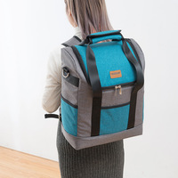 Bags Tote Shoulder Oxford Beer Food Ice Pack Thermal lunch Pouch Travel Picnic Food Insulation Backpack