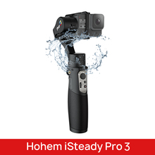 Hohem iSteady פרו 3 3 ציר כף יד Splash הוכחה Gimbal מייצב עבור DJI אוסמו פעולה GoPro גיבור 7 6/5/4/3 Sony RX0 עבור SJCAM