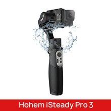 Hohem iSteady Pro 3 مثبت Gimbal ، 3 محاور ، مقاوم للماء ، لـ DJI Osmo Action GoPro Hero 7 6/5/4/3 Sony RX0 لـ SJCAM