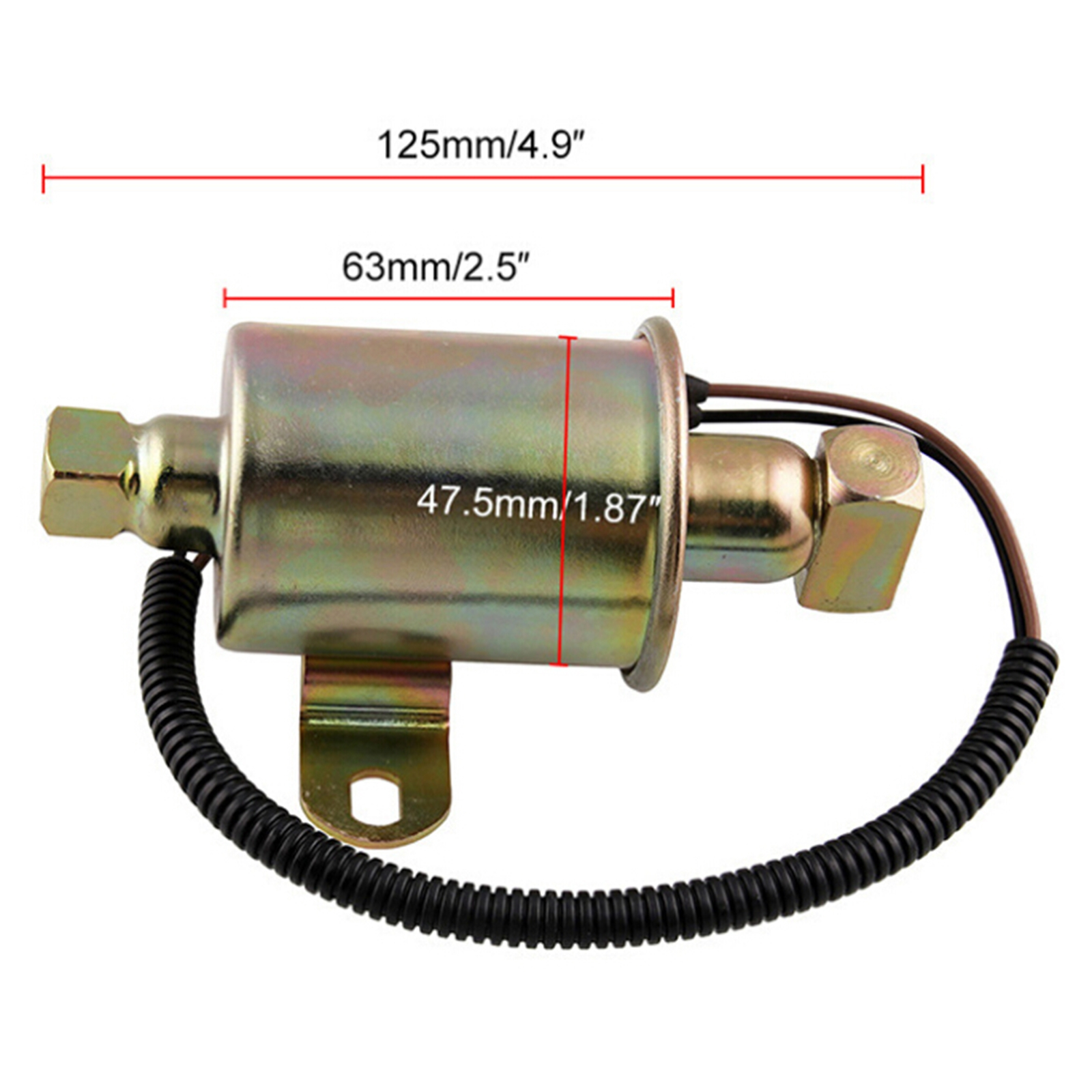 Electrical Fuel Pump 149-2620 35 gph//132 lph For Onan Cummins A029F887 A047N929