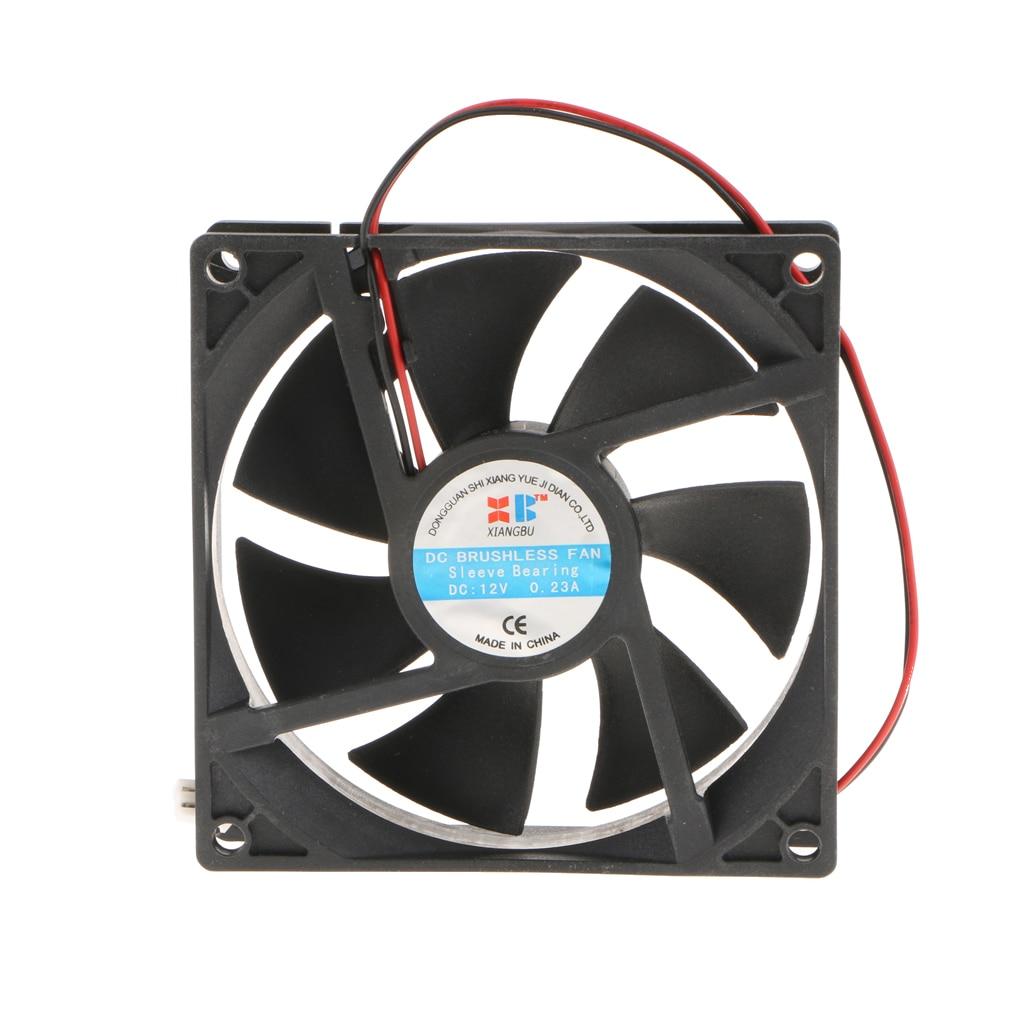 92x92x25 mm High Speed PC Computer Silen Cooling Case Fan DC12V 2P Laptop
