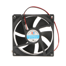 92x92x25 mm High Speed PC Computer Silen Cooling Case Fan DC12V 2P Laptop