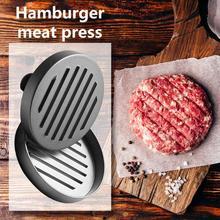 Кухонные инструменты для Разделки мяса птицы алюминиевый сплав круглый гамбургер пресс-форма для мяса говядины гриль бургер чайник Инструмент Кухонные гаджеты