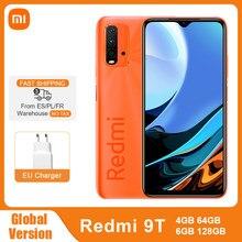 Globale Version Xiaomi Redmi 9 T 4GB 64GB /128GB 9 T Smartphone Snapdragon 662 48MP Quad kamera 6000mAh 6.53