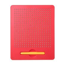 New Writing Drawing Board Magnetic Ball Sketch Pad Tablet Educational Kids Toy Y4QA