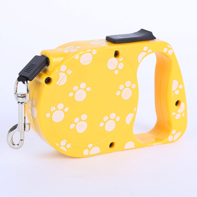 3M 5 M Automatic Flexible Tractor Dog Hand Holding Rope Dog Chain Small And Medium-sized Dogs Teddy Traction Belt
