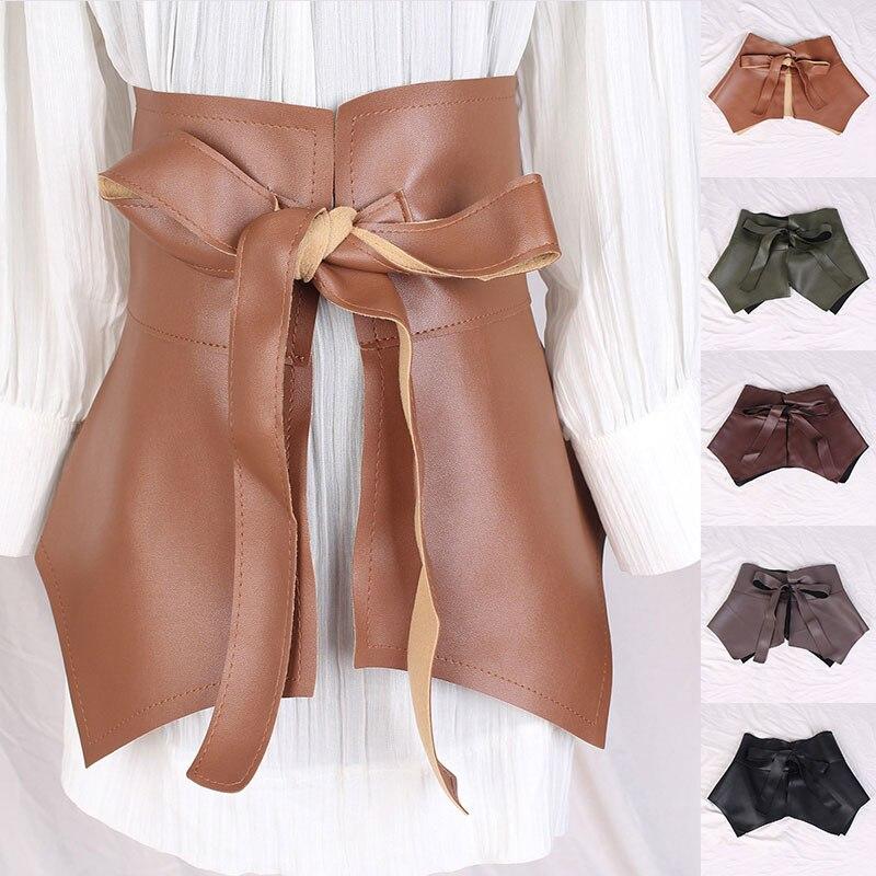 Рюши Пояс Женская юбка с баской и поясом одноцветное Цвет ультра