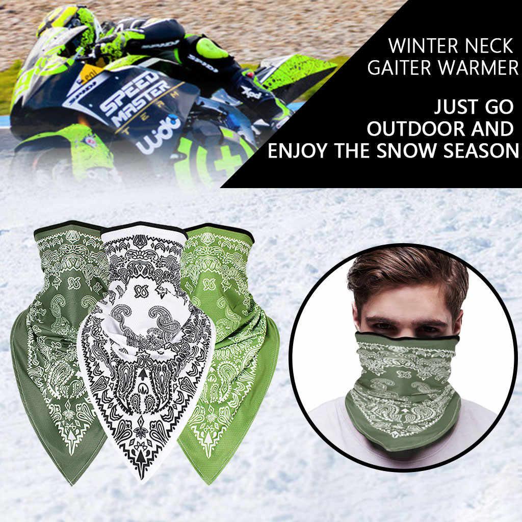 Máscara de esquí de ciclismo máscara de camuflaje a prueba de arena transpirable al aire libre de montar al aire libre de la cubierta de la toalla de la máscara de la bicicleta Bandana bufandas