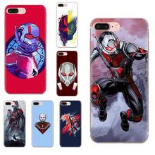 Soft Silicone TPU Transparent Case Ant-man For HTC Desire 530 626 628 630 816 820 830 One A9 M7 M8 M9 M10 E9 U11 U12 Life Plus(China)