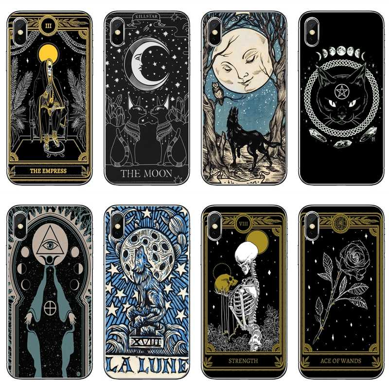 Heksen Maan Tarot Mystery Totem Siliconen Telefoon Case Voor Xiaomi Redmi S2 7 7A K20 6 6A 5A 4A 4X 5 Plus Redmi Note 8 7 6 5A 4 Pro
