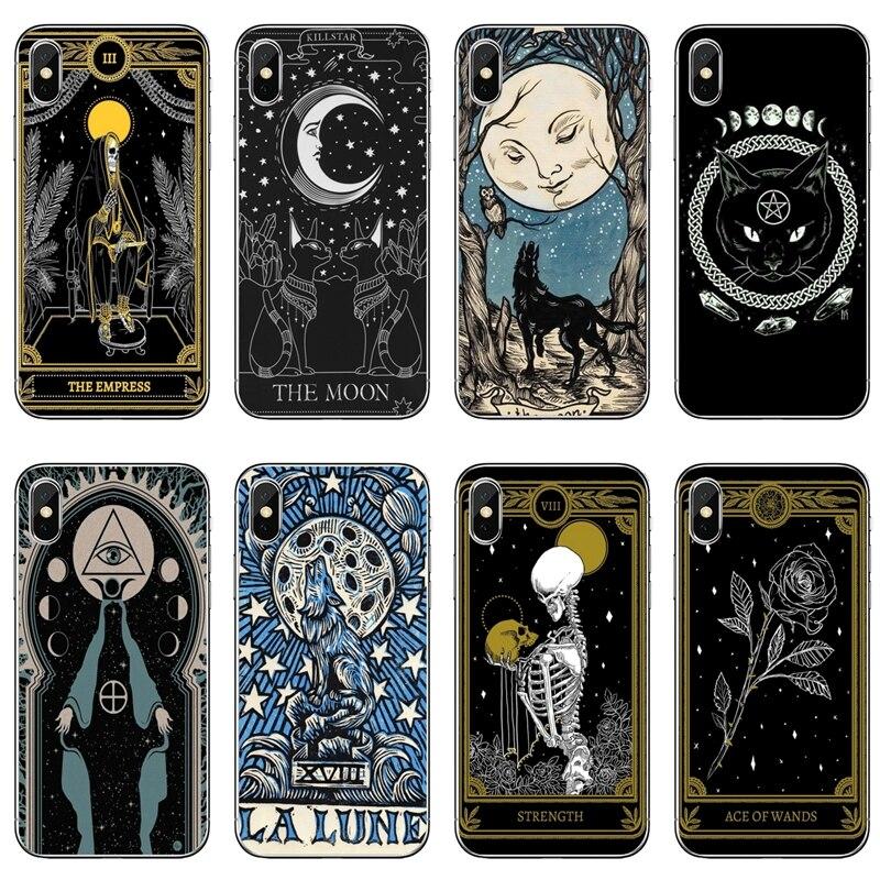 Силиконовый чехол для телефона ведьмы, Луны, таро, Таинственный тотем, для Xiaomi Redmi S2 7 7A K20 6 6A 5A 4A 4X 5 Plus Redmi Note 8 7 6 5A 4 Pro|Бамперы|   | АлиЭкспресс