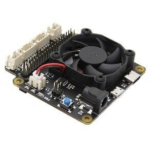 Image 4 - Raspberry Pi X735 An Toàn Tắt Máy Quản Lý Điện Năng & Tự Động Làm Lạnh Ban Cho Raspberry Pi 4 Mẫu B/3B + (Plus) /3B / 2B +