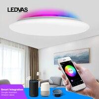 LEDVAS Decke Lichter Smart WIFI Voice APP Control RGB 24W 36W 55W 68W Wohnzimmer Lichter küche Decke Lampe Schlafzimmer