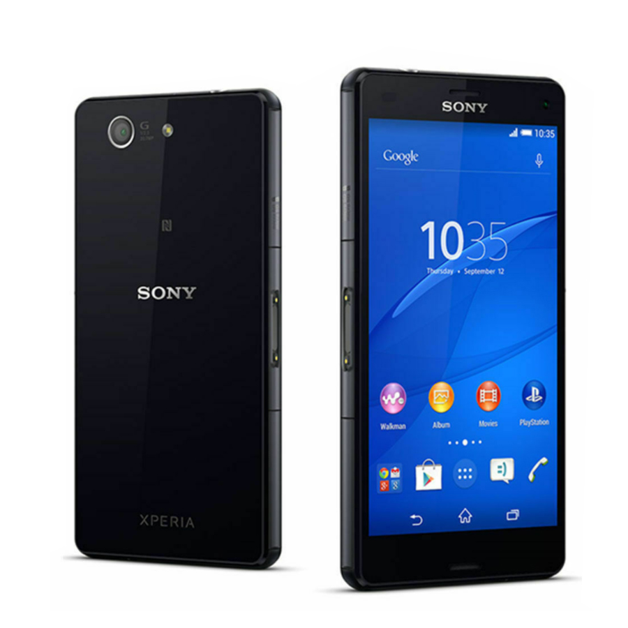 Brand New Original Sony Z3 Compact Mobile Phone Sony D5833 4.6