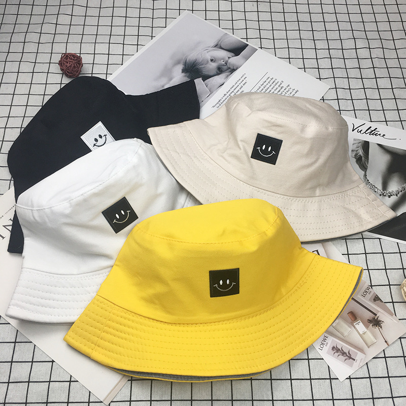 Hirigin Fashion Small-Face Bucket Hat 2019 New Streetwear Cap For Women And Man Cute Fishman Hats Harajuku Japanese Bucket Hats
