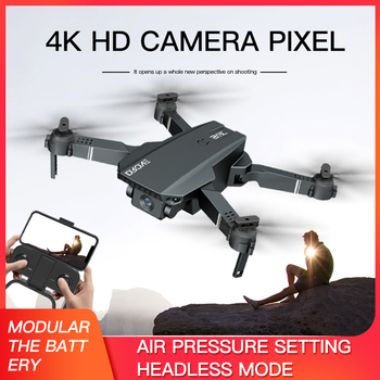 2021 New S107 Mini Drone Profession 4K HD Camera Drone Helicopter WiFi FPV Drone Real-Time Transmission RC Quadcopter toy Drone 4