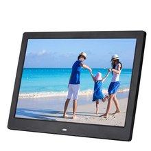 12 дюймов TFT Экран HD 1080P светодиодный многофункциональное цифровое фото рамка для видеосъемки MP3/MP4 плеер Дистанционное Управление