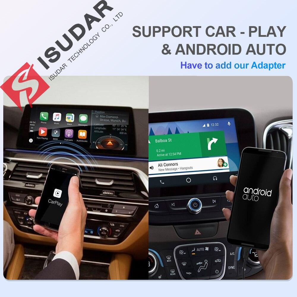 Isudar H53 4G Android 1 Din Авто Радио для Mazda 6 2 3 GH 2007 2012 Автомобильный мультимедийный gps 8 ядерный ram 4 Гб rom 64 Гб Камера DVR DSP - 3