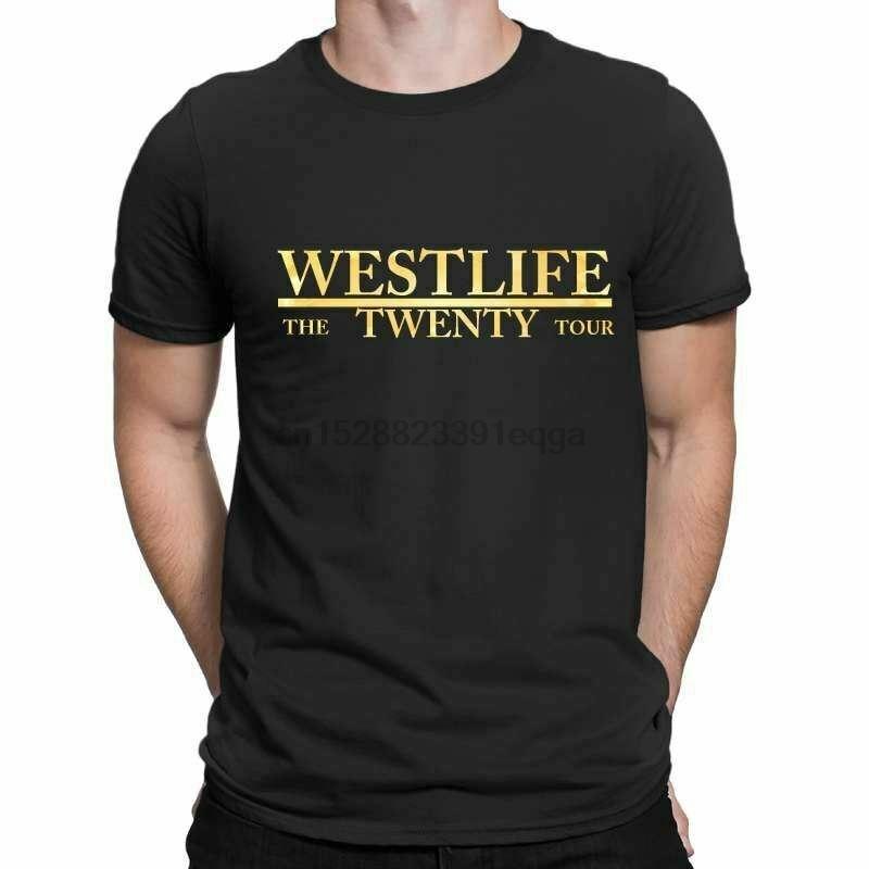 Westlife Reunion Tour 2019 Concert Ladies Women Men Unisex Baggy T Shirt 2236