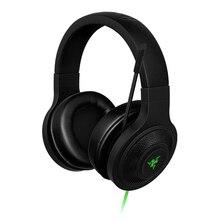 Razer Kraken эфирные наушники с шумоизоляцией над ухом Проводная игровая гарнитура аналоговая 3,5 мм с микрофоном для ПК/ноутбука/телефона геймера