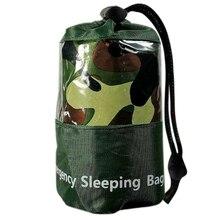 Водонепроницаемый аварийный спальный мешок Спорт на открытом воздухе Кемпинг Туризм защита одеяло ZJ55