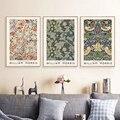 William Morris Museum Ausstellung Poster Leinwand Malerei Galerie Wand Kunst Drucke Vintage Bilder für Wohnzimmer Wohnkultur