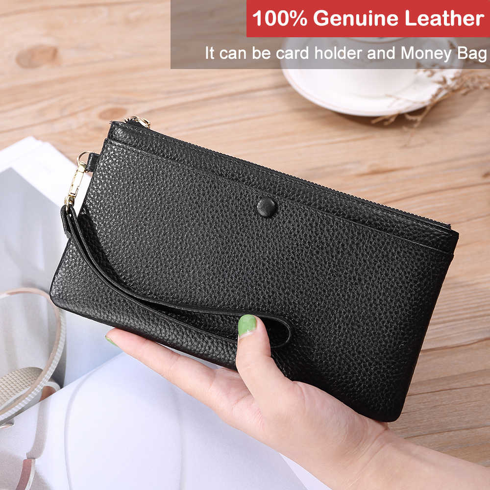 X. d. BOLO deri cüzdan kadınlar lüks fermuar cüzdan kadın uzun tasarım kadın cüzdan para cebi bayanlar deri cüzdan s 2019