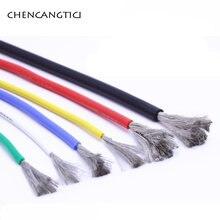 1 метр 008 медный провод термостойкий кабель мягкий силиконовый