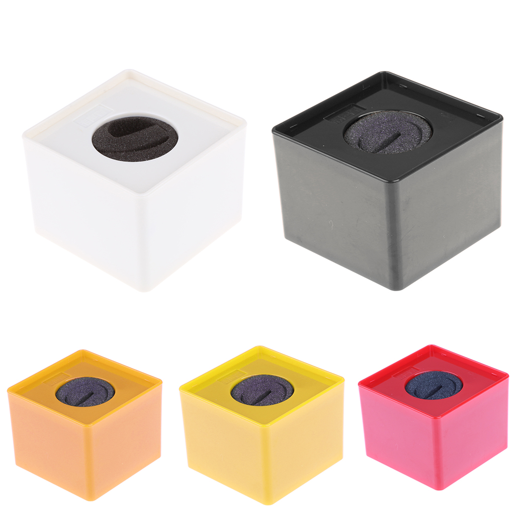 42mm Round Handheld Mic Microphone Interview Square Cube Logo Flag Station