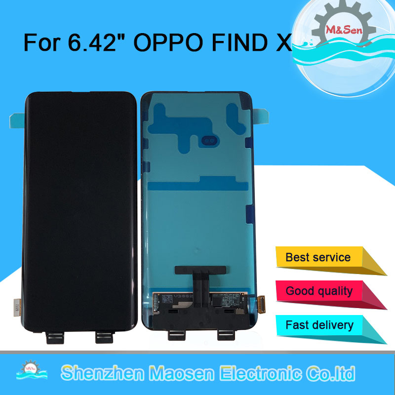 Original M Sen For 6 42 OPPO FIND X LCD Display Screen Touch Panel Screen Digitizer
