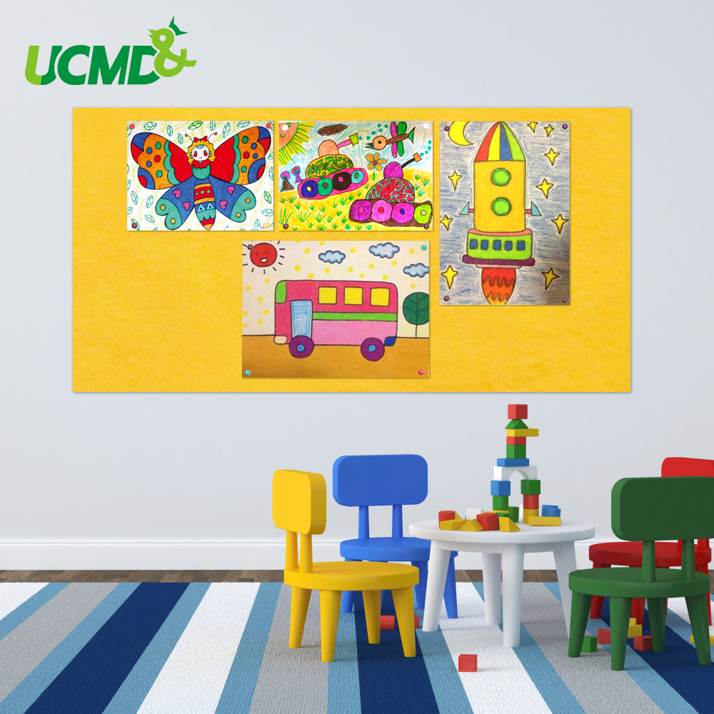 Self-adhesive Presentation Board Home School Photos Artistic Work Wall Decor Stickers Office Files Certificate Display Board