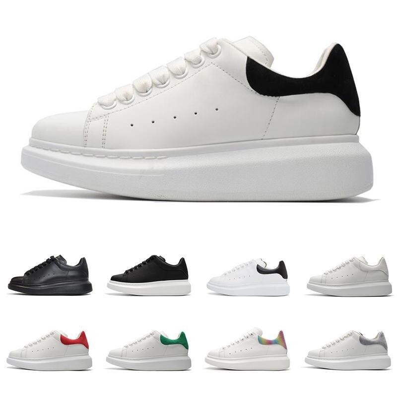2020 Original Velvet Black Mens Running Shoes Beautiful Platform Womens Designer Queens Brand Sneakers Genuine Leather Shoes