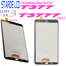 Starde Replacement LCD for Samsung Galaxy Tab E 8.0 T377 T3777 LCD Display Touch Screen Digitizer Assembly industry lcd screen panel replacement l5f30817t17 gcx074akq e l5f30978t00 lq0das246 gcx074akq e