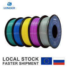 LONGER PLA Filament 1.75mm PLA do drukarki 3D 1KG na rolkę PLA materiał do drukowania 3D filamento pla drukarka 3d filament(China)