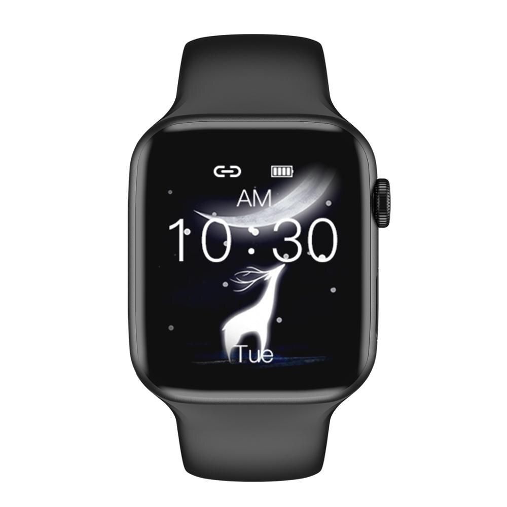 696 iwo 20 8 Smart Watch IP68 Waterproof Passometer Blood Pressure Heart Rate Monitor T8 Smartwatch Bracelet 1:1  44MM Watch 5 4
