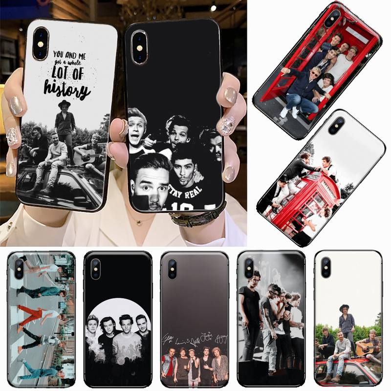 One Direction High-end Phone Case for iPhone 11 12 pro XS MAX 8 7 6 6S Plus X 5S SE 2020 XR