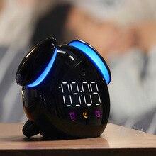 Touch Sensor Led Clock Light Colourful Night Light Chargeable 2000mAh Night Lamp Children Bedroom Beside Lamp