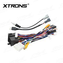XTRONS AK PA7735HP PWR PA7735HP zaawansowana konfiguracja ISO kabel również dla Hyundai IX35 jednostki tanie tanio Kable diagnostyczne samochodu i złącza