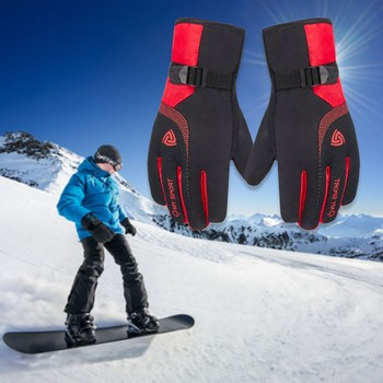 Winter Snow Glove Outdoor Sports Ski Snowboard Adult Children Skiing Gloves Windproof Waterproof Riding Warm Cotton Gloves #YL10