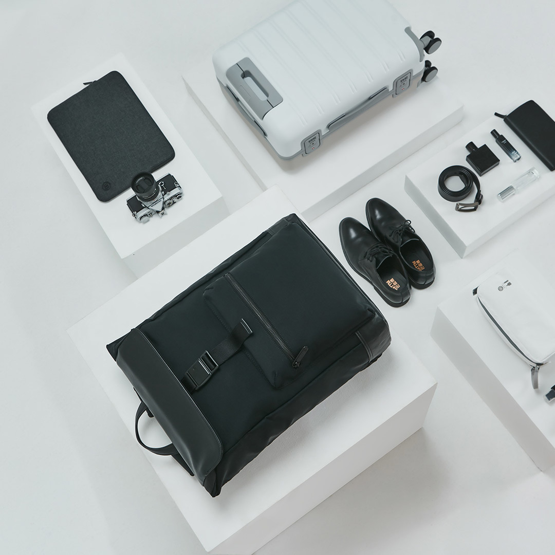 22.5L Xiaomi 90 точек светильник городской Досуг Рюкзак Xiomi сумка рюкзак многогранный светильник для хранения технология магнитная пряжка - 5